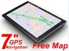"7"" GPS 7 inch car gps Navigation FM AV-IN mp3 mp4"