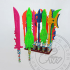 New itemplastic toy knife for kids IVY-TC254 army knife toys with candy