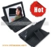 Ipad2 leatehr case with keyboard