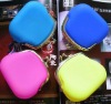 new lovely blue silicon holder pouch at wholesale price,silicone wallets