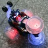 4 Channel R/C Remote Radio Control Car With Colorful LED Light 360 Degrees Turns Full Function Toy Stunt Car