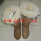 FY-XZ013 New Ladies shearled sheepskin winter shoes
