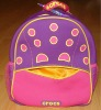 2012 New Design Neoprene Cute Dots Printing Kids School bags/Backpack Bags,customized logo accepted