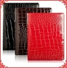 Croco Foldable Leather Case Cover for iPad 2