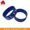 hot transferr imprint silicone bracelet with embossed Logo