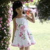 Baby Girls dresses ,pink flower princess style summer dress