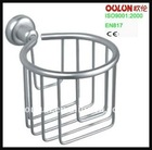 Aluminum deep corner soap holder for dishes OL-8728