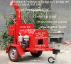 diesel wood chipper towable wood chipper