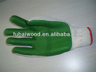 Rubber/Latex coated working gloves size XXL