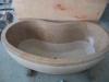 Granite bath tub