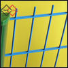 Twin bar welded mesh fence