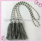 Modern mixed color curtain tassel with crystal bead