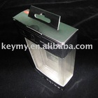transparent color box with blister tray for electronic packing