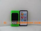 TPU case for ipod nano7 with back splint