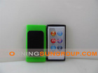 TPU case for ipod nano7 with back splint