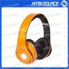 High Definition Headphone In Orange