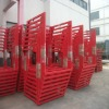 logistic & warehouse used metal stack racks