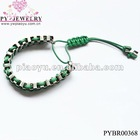 2012 fashion colorful knitting bracelet