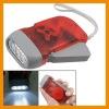 HDDR-8415 3 LED Dynamo Wind up Flashlight NR Torch Light Camping