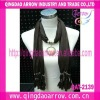 2012 pendant scarves fashion necklace jewelry scarf
