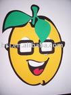 EVA foam mask apple shape/Mask/EVA mask