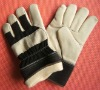 Cow Grain Leather Winter Working Gloves