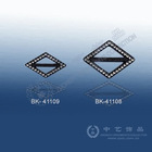 (E6-41) Rhinestone buckle, diamond-shape, charm decoration