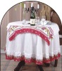 Printed Decorative Round Table Cloth