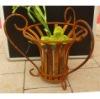 Wrough Iron Flower Pot