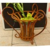 Wrough Iron Flower Pot