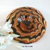 Phoenix Art Colored Glass Plates