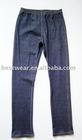 10pcs/lot 2011 new style dark blue cotton women`s jean leggings,tight pants,basic legging Q0005
