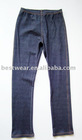 10pcs/lot 2011 new style dark blue cotton women`s jean leggings,tight pants,basic legging Q0005