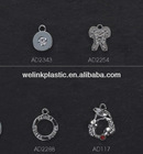 metal jewelry rhinestone Bra charms bra pendant for bra or underwear lingerie