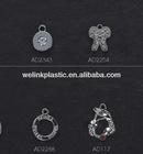 metal jewelry rhinestone Bra charms bra pendant for bra or underwear lingerie