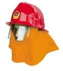 Red Fire helmet