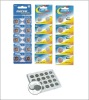 Li-ion rechargeable button cell