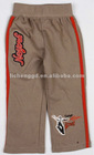 B3388#BROWN Quality chlid wear boy jog pants