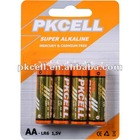 Alkaline battery 1.5v aa battery
