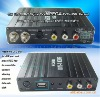 DTR-1303 2012 the Newest Mini Mobile HD car DVB-T MPEG4 AVBlackC/H.264 YPbPr receiver