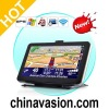 7 Inch HD Touchscreen GPS Navigator (WiFi, FM Transmitter, High Power CPU)