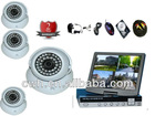 Promotion! Home Security System-36LED Good Night Vision Cameras+4CH Audio Full D1 Network DVR+500GB for PC and Phone