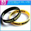 Colorful gift Silicone bracelet for promotional debossed silicone bracelets