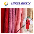 100% polyester plain dye coral fleece fabric for pajamas