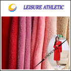 100% polyester plain dye coral fleece fabric for pajamas