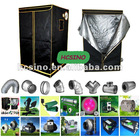 Hydroponics Systems Mylar Plant Growing Tent Kits--Ballast,Fan,Filter,Speed Controller,Tent,Hanger,etc