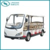 CE Electric Car Shuttle Bus 11 Seats with Gearbox and Power-Assisted Steering (LQY113BN)