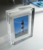 Acrylic magnetic photo frame, PF-4582, picture frame