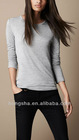 2012 Women Fashion Long-line jersey t-shirt Hst-008