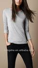 2012 Women Fashion Long-line jersey t-shirt Hst-008